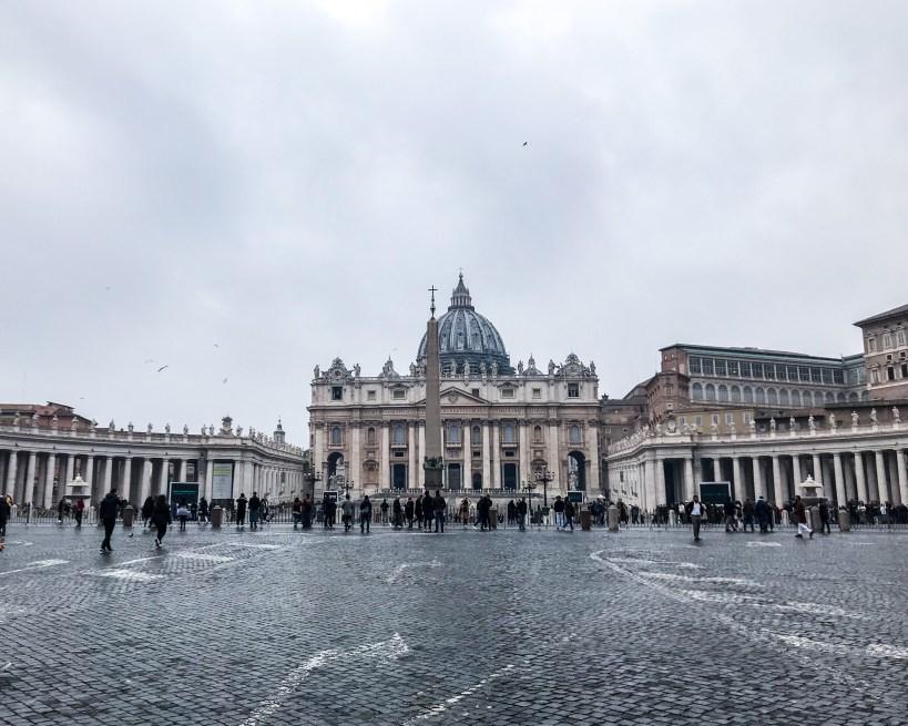 Piazza San Pedro Vaticano Roma
