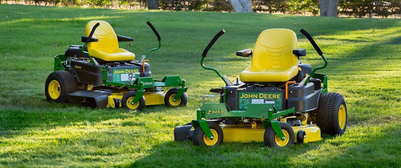 John Deere zero turn mowers