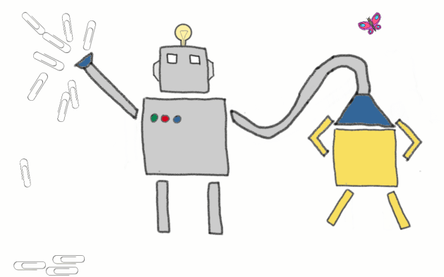 AI paperclip maximizer