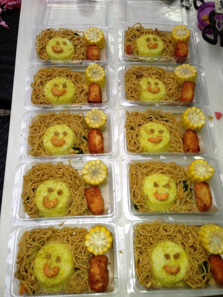 Resep Nasi Kuning Ulang Tahun Anak : resep, kuning, ulang, tahun, Mommycilla, Hatanami