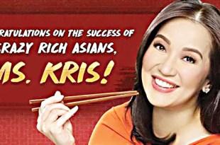 Kris Aquino chowking Crazy Rich Asians