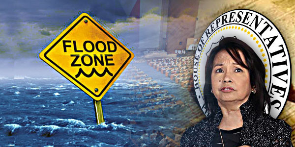 GMA Gloria Macapagal Arroyo Flood control