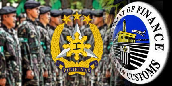 AFP Bureau of Customs BOC
