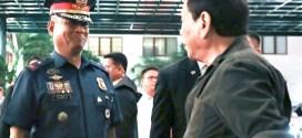 NCRPO chief, P/MGen Vicente Danao, Jr. and President Rodrigo Duterte