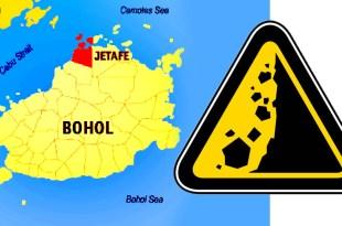 Getafe, Bohol, LandSlide