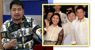 Rex Cayanong, Rodrigo Duterte, Leni Robredo