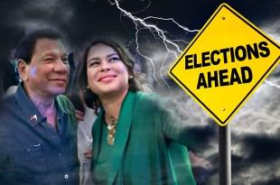 Rodrigo Duterte, Sara Duterte, Elections 2022