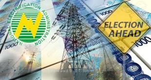 National Electrification Administration,NEA, Elections, Money