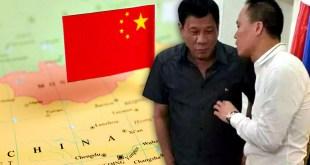 Rodrigo Duterte, Michael Yang, China