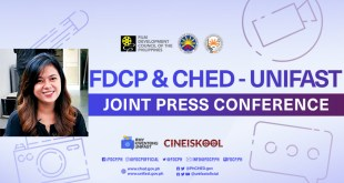 Liza Diño, CineIskool Short Film Lab and Festival, #MyKwentongUniFAST, CHED, UniFAST, FDCP