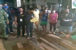 2 timbog sa illegal logging sa Ipo Dam gate sa Bulacan Micka Bautista
