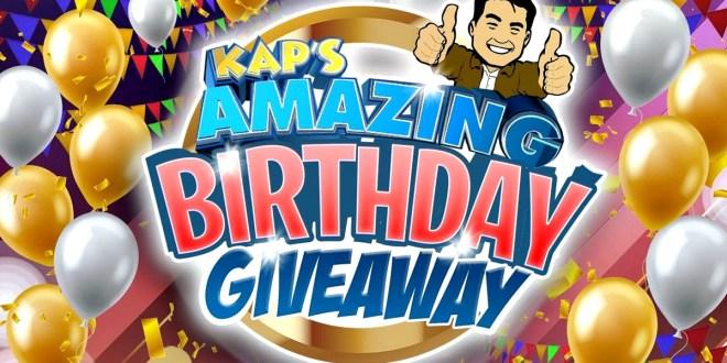 Bong Revilla Jr, Kap's Agimat Birthday Giveaway