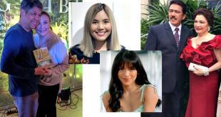 Kiko Pangilinan, Sharon Cuneta, Paulina Sotto, Ciara Sotto, Tito Sotto, Helen Gamboa