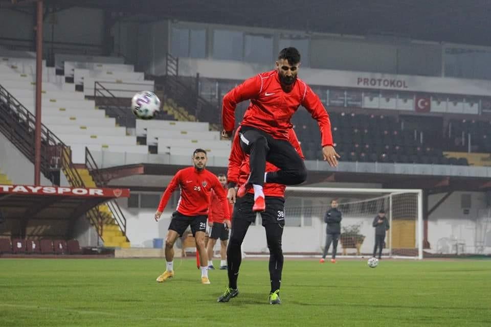 Hatayspor, Konyaspor maçının hazırlıklarını sürdürdü