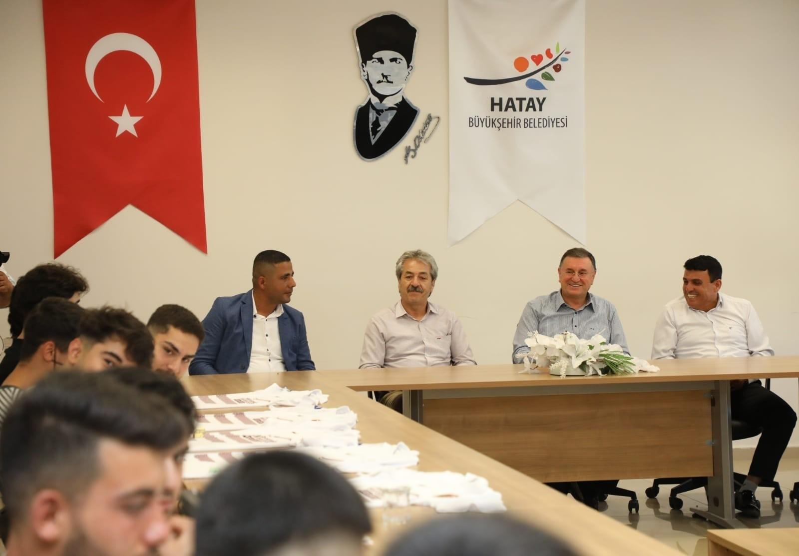 """Başkan Savaş: """"Hatay'da birlik ve beraberliği tesis ettik"""""""