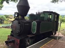 Hally Booley Steam Train Engine Port Douglas