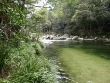 Mossman Gorge Daintree Rocks view