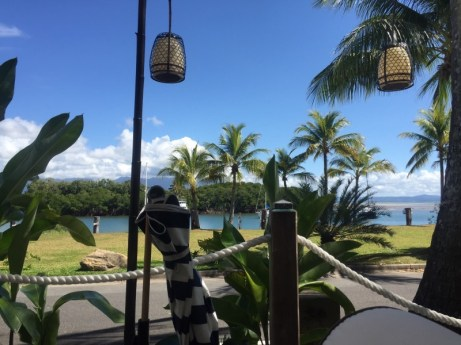 View from Barbados Day Bed Port Douglas