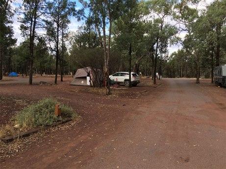 Low season Wilpena Pound Campsite