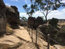 Hanging Rock fence