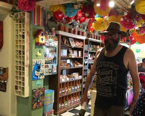David Beechworth Lolly shop
