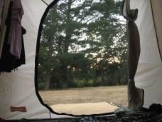 Empty campsite!