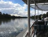 Paddle Steamer Steering View