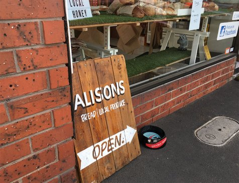 Alisons near Prahran Market and had an Ice coffee with Portuguese tarts and danishes