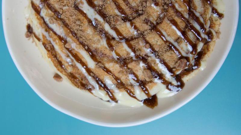 The Cinnamon Roll Pancake