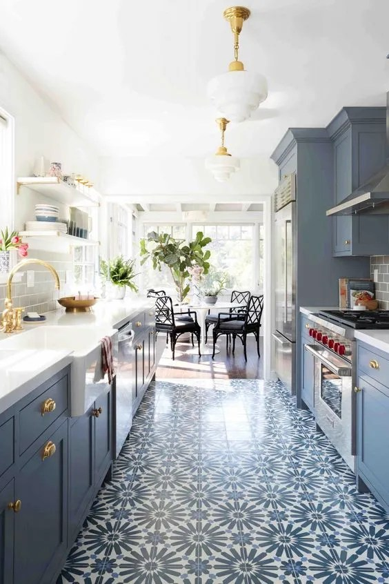 kitchen color schemes to