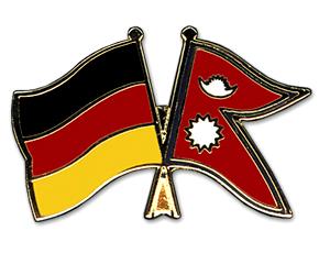 Freundschaftspins-Deutschland-Nepal