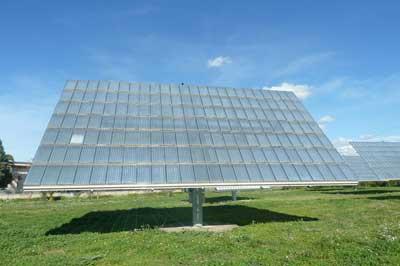 Tracker moduli fotovoltaico