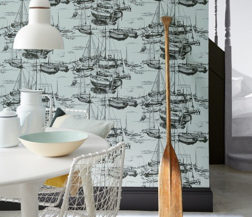 Stunning period wallpapers 'Little Greene'