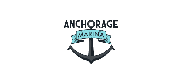 30 Cool Anchor Logo Designs for Inspiration  Hative