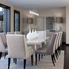 Living Room Themes Modern White Wood Furniture 40 Beautiful Dining Ideas Hative Contemporary 14