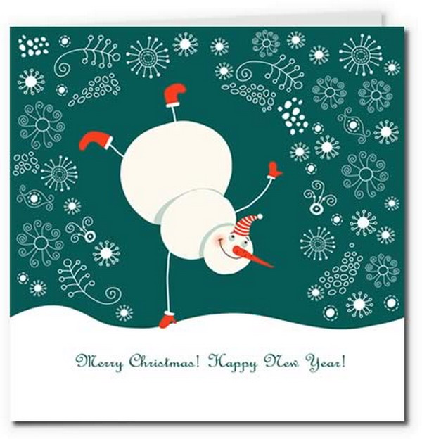 40 Free Printable Christmas Cards Hative
