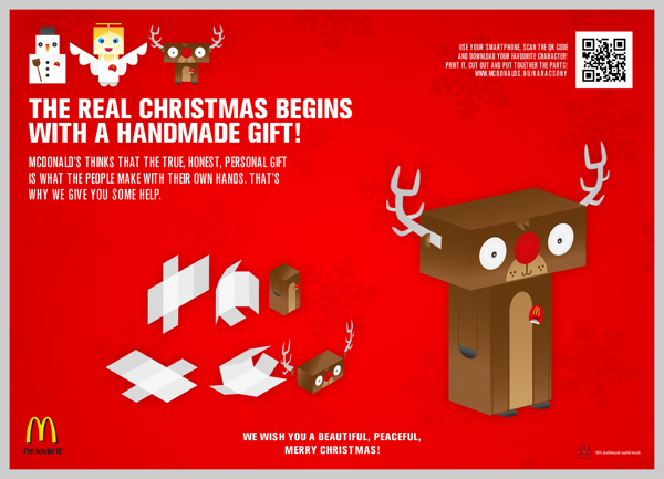 40 Amazing Christmas Advertising Ideas For Product