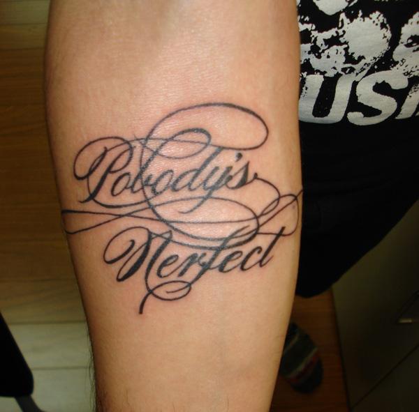 cool cursive tattoo fonts ideas