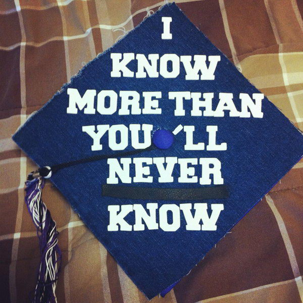 graduation cap ideas 19 http://hative.com/awesome-graduation-cap-decoration-ideas/