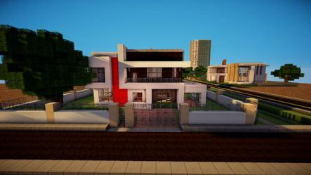 minecraft cool houses designs modern hative build creative built