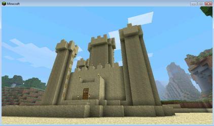 minecraft castle sand cool designs idea houses deviantart building hative build donator mincraft