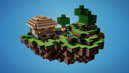 minecraft sky island cool designs houses modern idea awesome hative floating homes