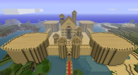 minecraft designs cool castle sand houses sandcastle hative architecture modern blueprints awesome blowing mind fort