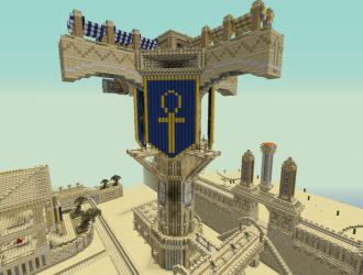 minecraft designs tower cool houses zeppelin hative buildings inspiration epic build blueprints castle awesome structures statues amazing architecture