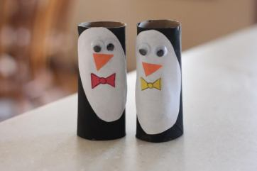 24 penguin puppets