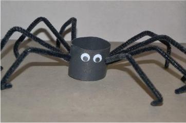 49 halloween spider craft