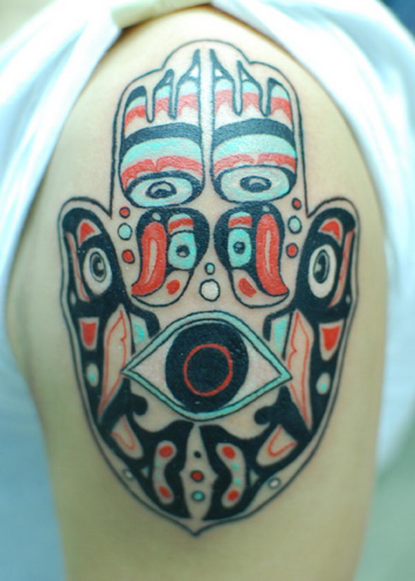 30 Cool Hamsa Tattoo Ideas with Meanings  Hative