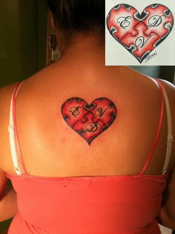 Puzzle Tattoos : puzzle, tattoos, Puzzle, Piece, Tattoo, Design, Ideas, Hative