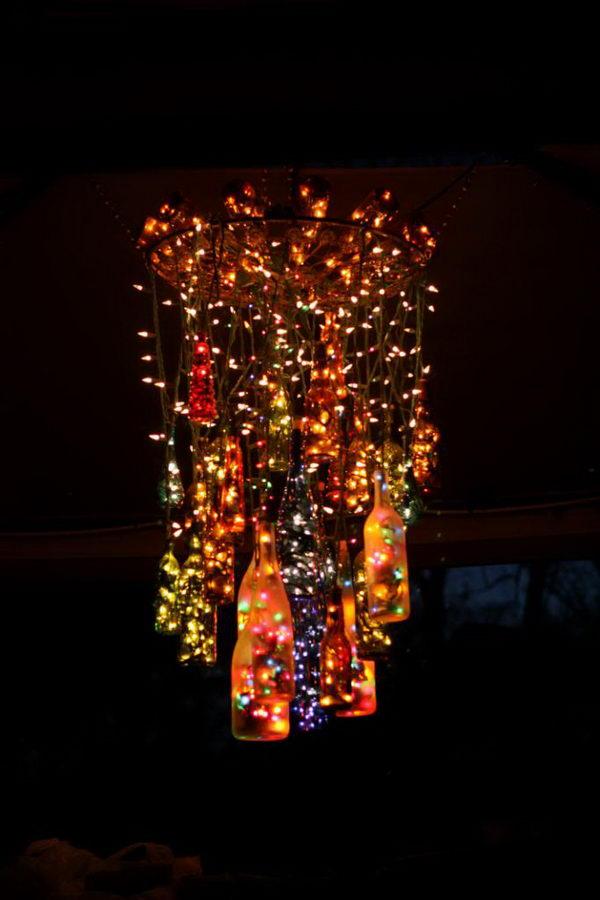 Half Strand Christmas Lights Out