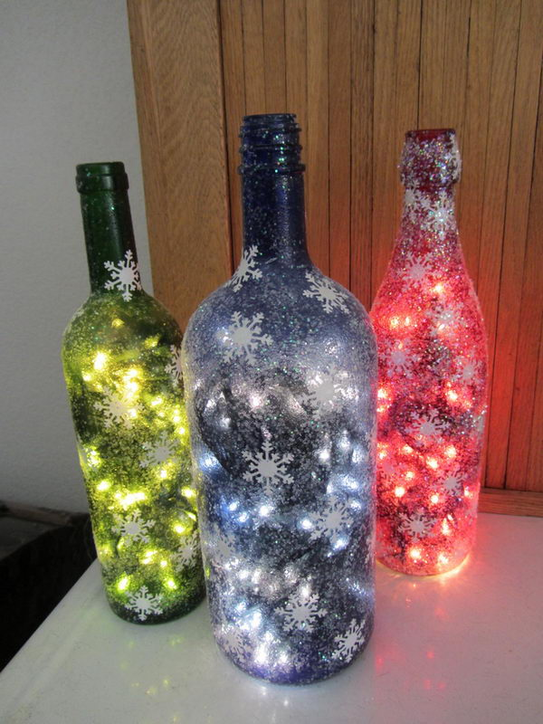 Exceptional Christmas Decorated Bottles Part 8 Nectar Tasting Room